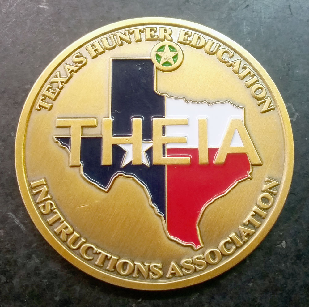 Lifetime Member Challenge Coin – THEIA